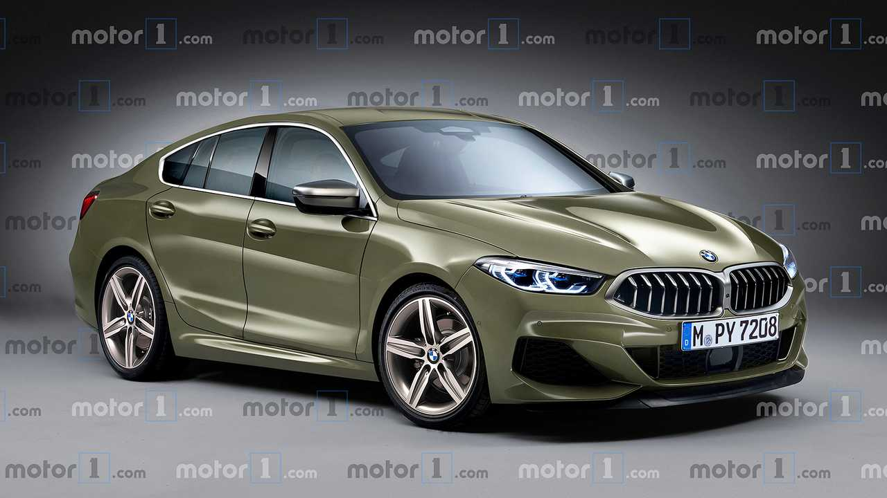 BMW Serie 2 Gran Coupé, il rendering