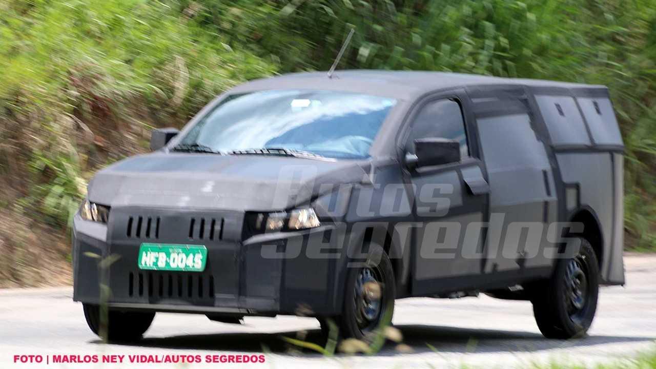 Nova picape Fiat (Flagra)