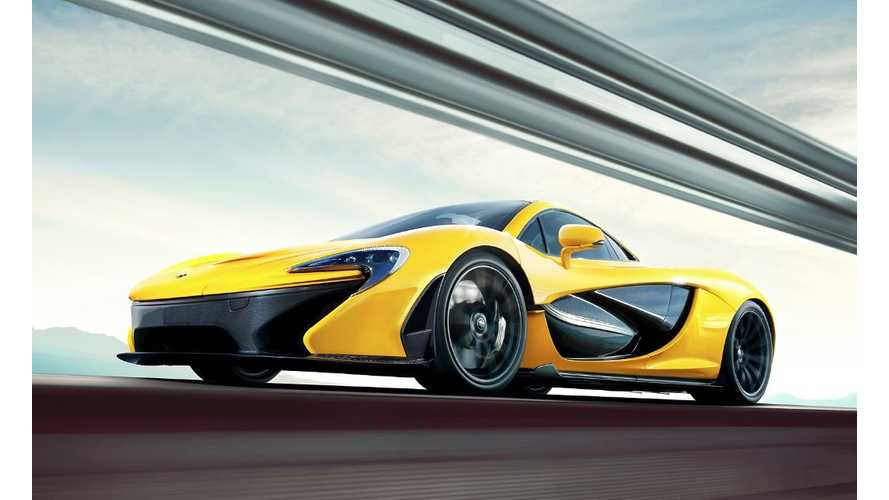 McLaren P1 Officially Enters Production
