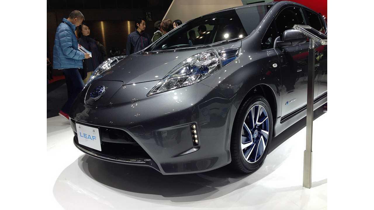 Nissan LEAF Aero Style Debuts at 2013 Tokyo Motor Show