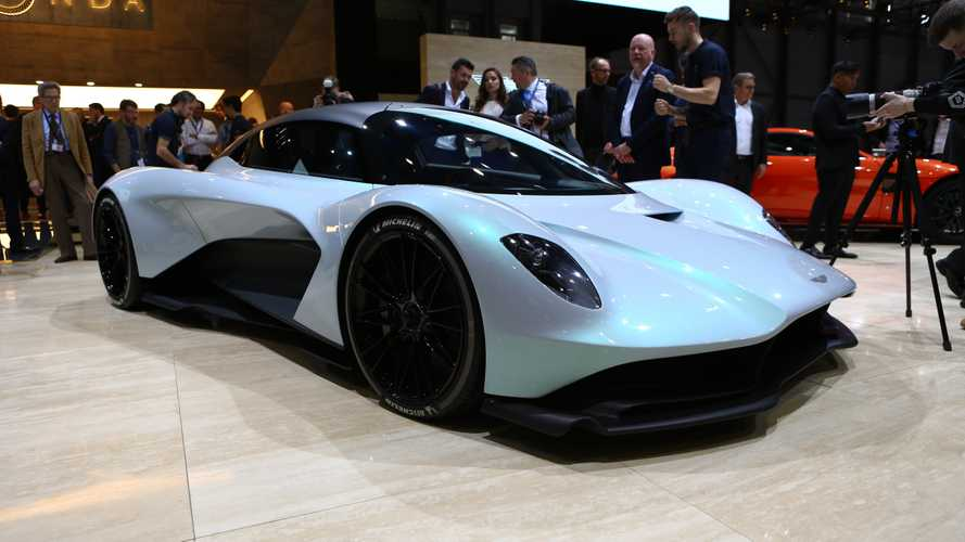 Aston Martin AM-RB 003 at the 2019 Geneva Motor Show
