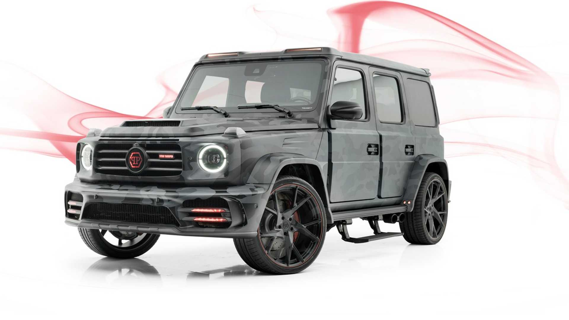 Ludicrous Mercedes Amg G63 By Mansory Detailed On Video