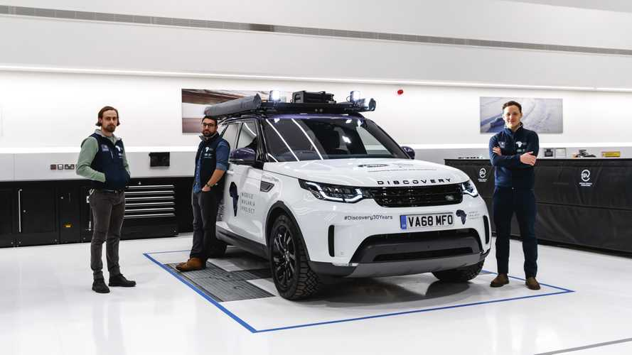 Land Rover Discovery: 'one-off' para luchar contra malaria