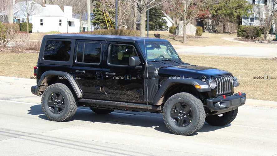 Jeep prépare le Wrangler hybride rechargeable