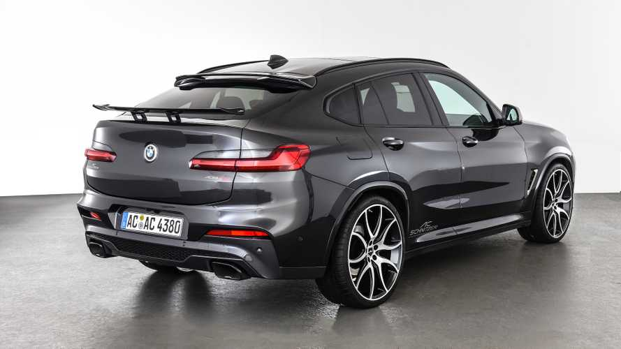 AC Schnitzer BMW X4 gets more oomph, dresses in black
