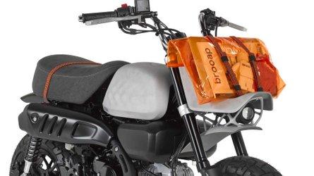 Custom 3D-Printed Honda Monkey