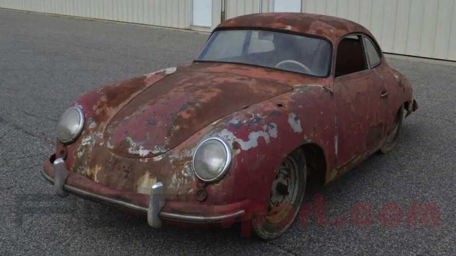 Porsche 356 Pre A 1952 sortie de grange