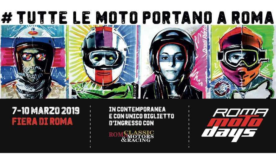 Roma Motodays 2019: tutte le novità