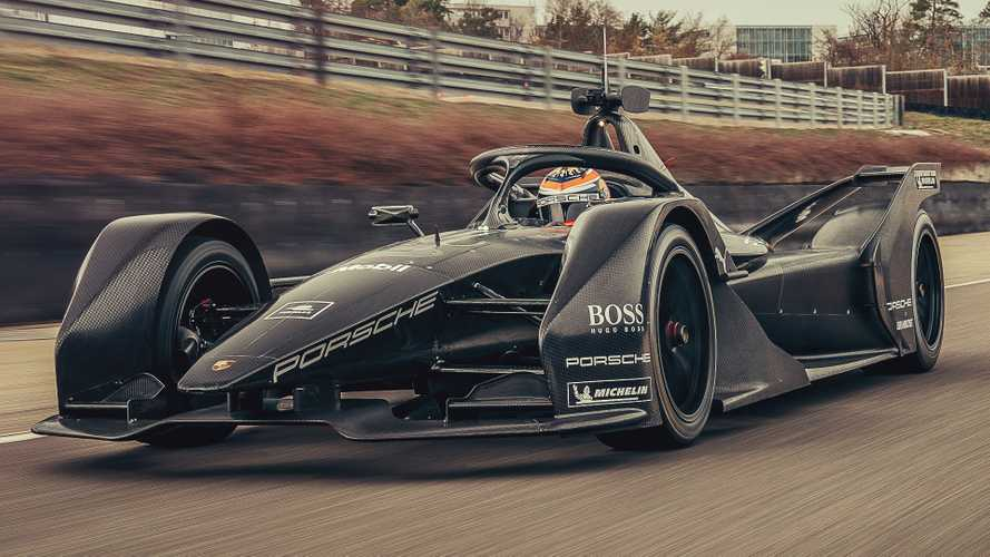 Porsche shakes down Formula E development car