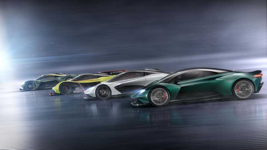 Aston Martin's Brexit Beating Fantastic Four Supercars