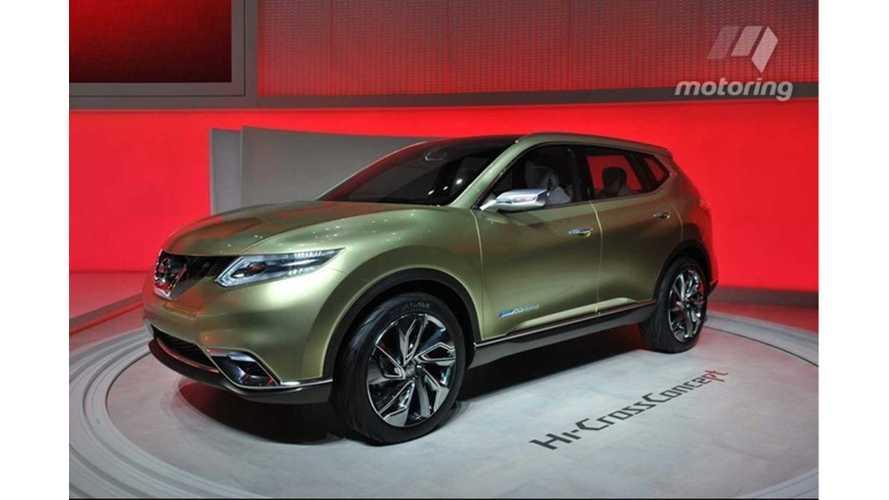 Nissan To Show Electric SUV Concept At Paris Car Show