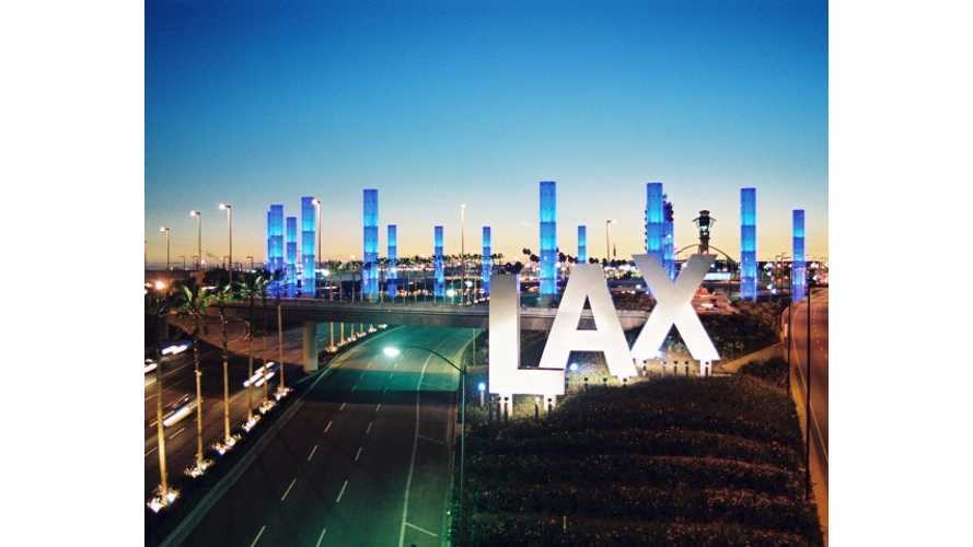 LAX to End Free Electric Vehicle Parking