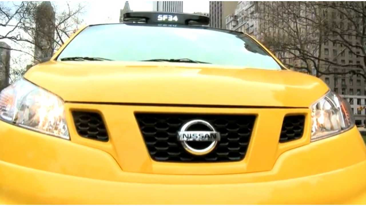 Choosing The Perfect Yellow For New York's Taxi Of Tomorrow, the Nissan NV200 (Video)
