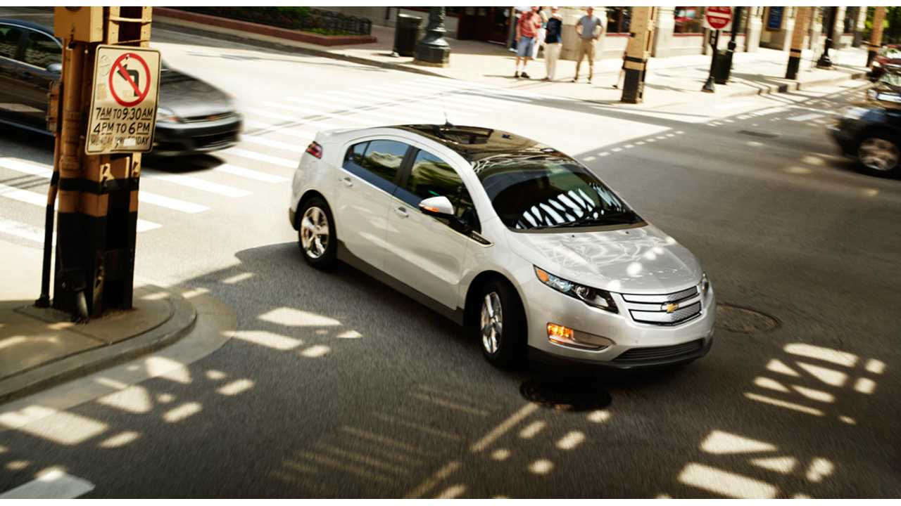 Consumer Reports:  Chevrolet Volt Most Loved Car.  Again