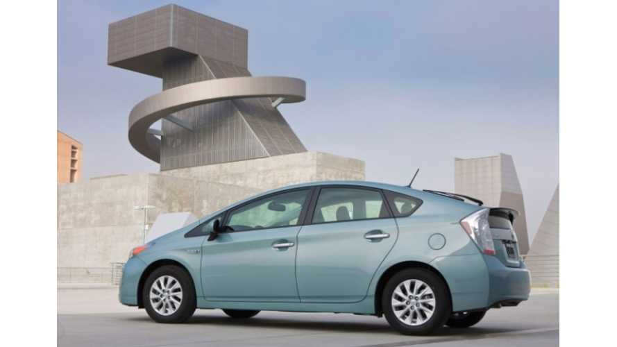 Toyota Prius Plug-In Hybrid Outsells Vauxhall Ampera (aka Chevy Volt) in UK in 2012