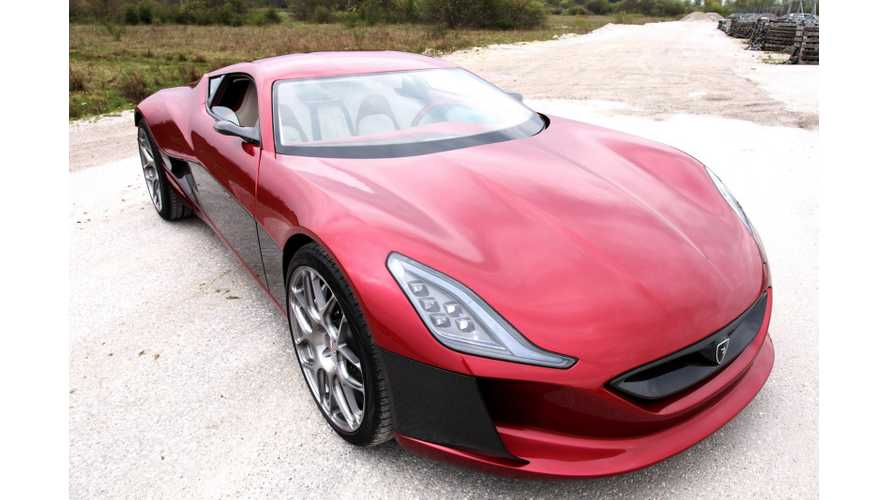 Rimac Automobili Enters Electric Vehicle Powertrain Market With True Authority; Will Sell All of Its Highly Specialized Componen