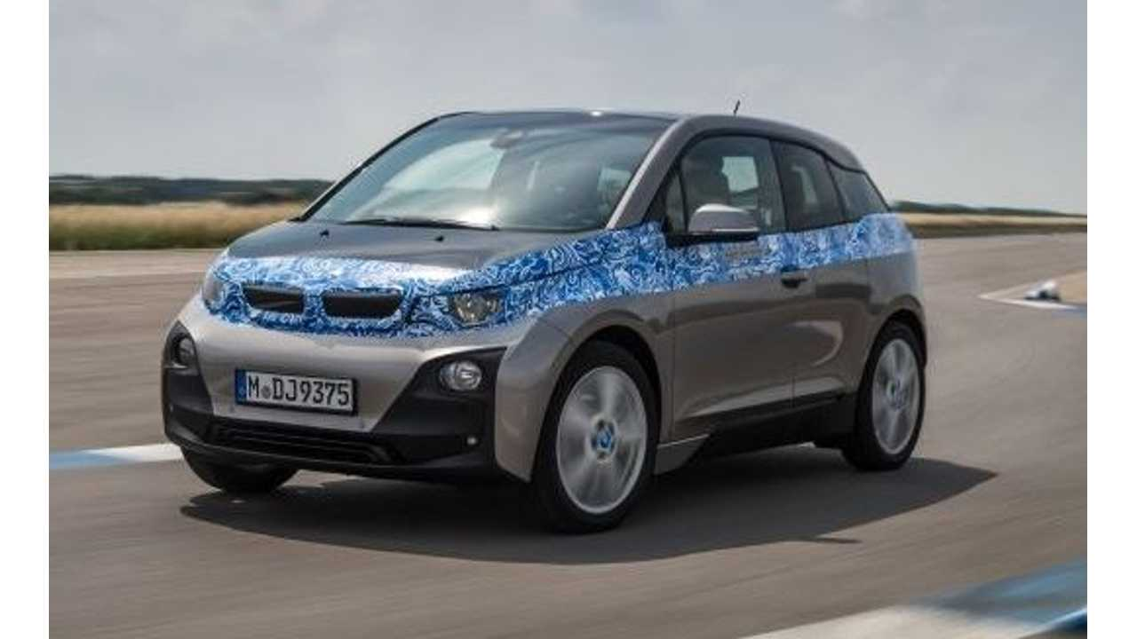 Bmw I3 Will Come With Optional Range Extender