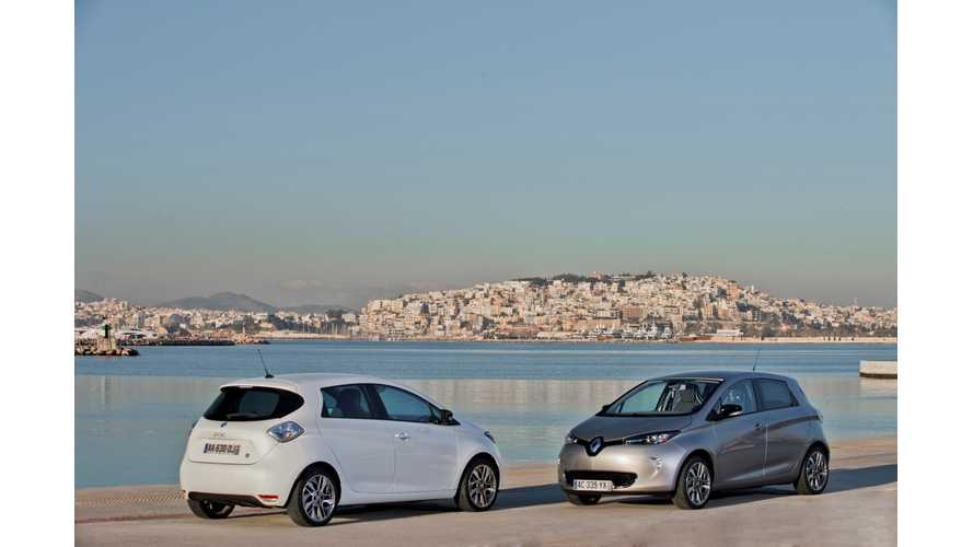Electric Vehicles Sales in France Double in First 6 Months of 2013