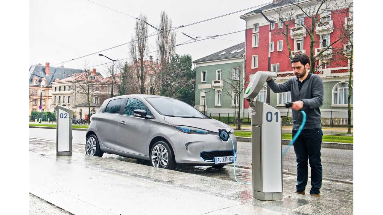 May Electric Vehicle Sales in France; Renault Zoes Leads the Way