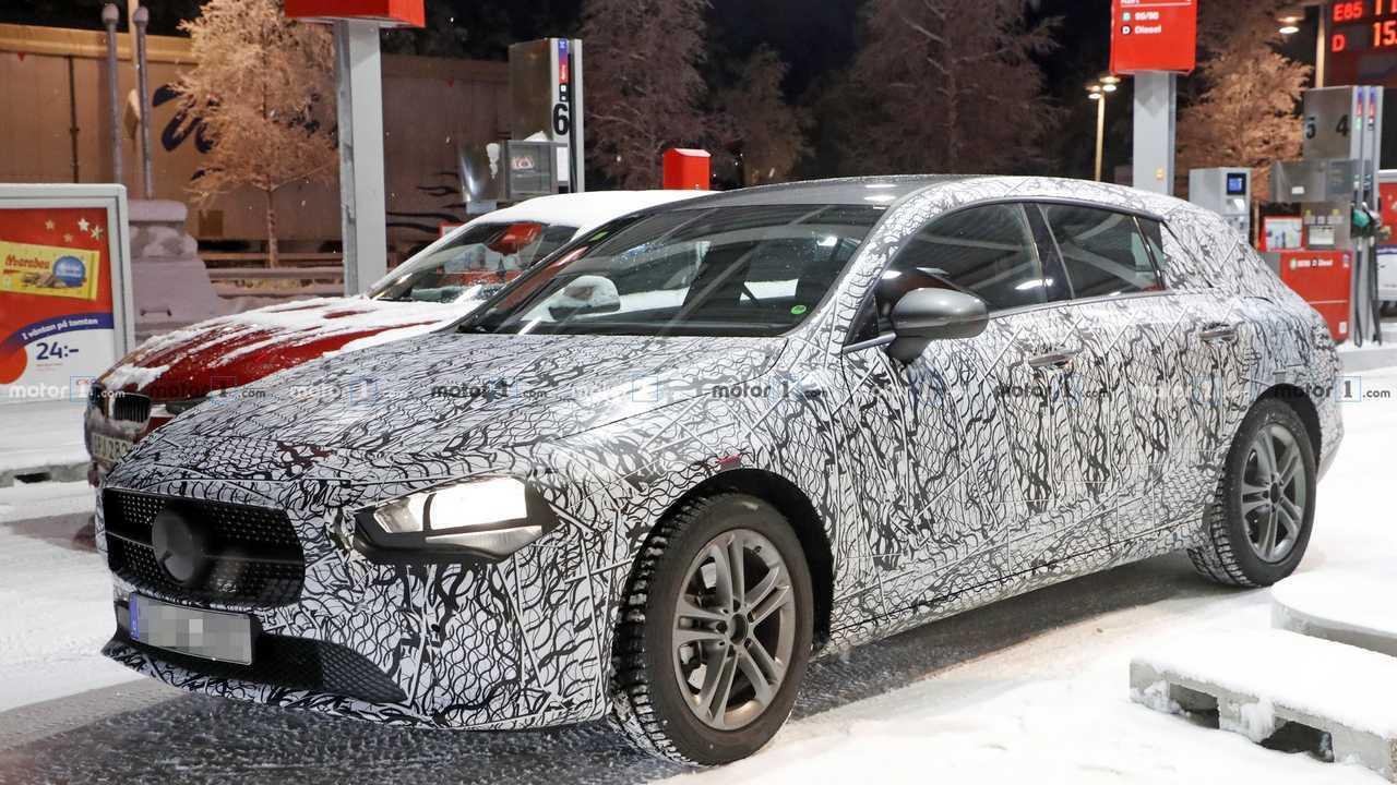 Mercedes-Benz CLA Shooting Brake Spionagefoto von 2020