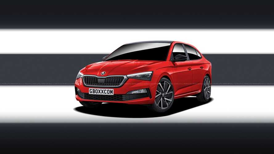 Skoda Scala RS, Scout renders