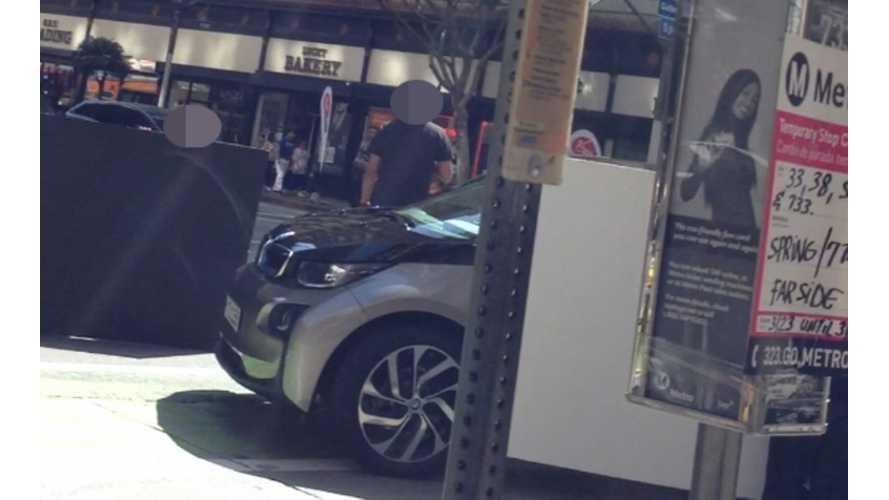 BMW i3 Caught In The Wild, Sort Of
