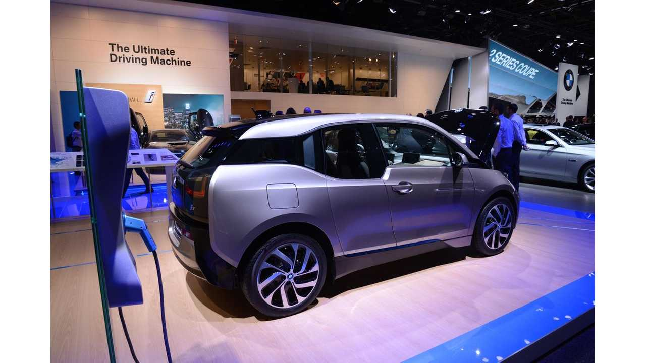 Bmw I3 S Of Pure Electric Cars