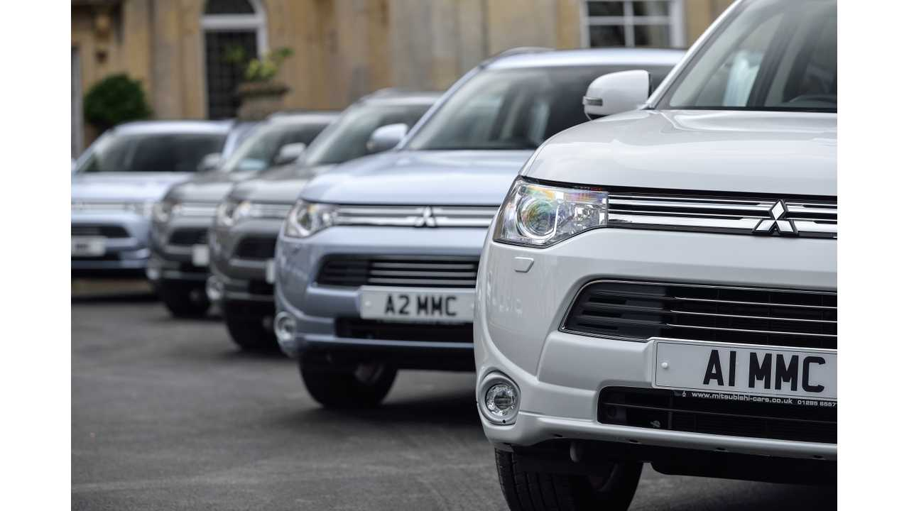 Mitsubishi Motors UK Announces Lease Offers For Outlander PHEV