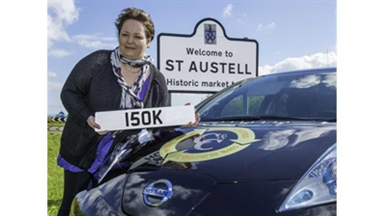Nissan LEAF Taxi Fleet Surpasses 150,000 Miles - Logs 37,000 Fares