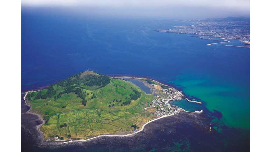 South Korea's Jeju Island to Become Home to Only Zero Emisions Vehicles by 2030