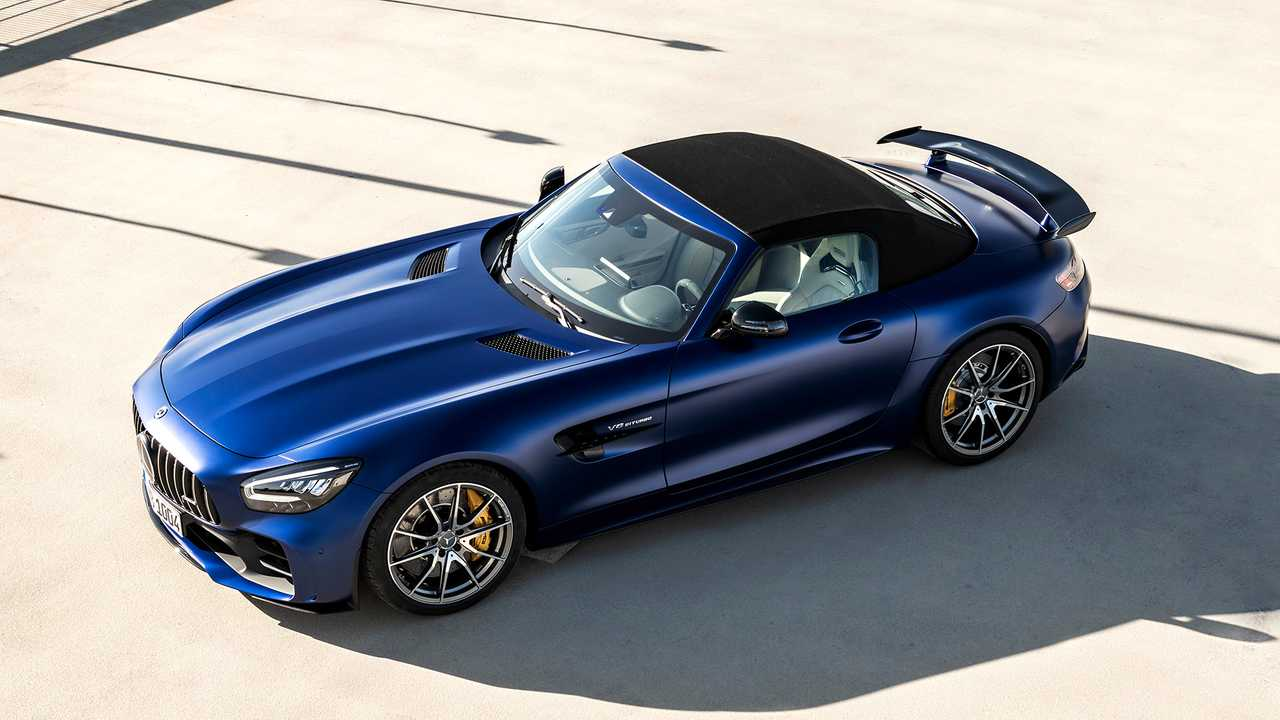 Mercedes-AMG GT R Roadster debuts with coupe-like performance