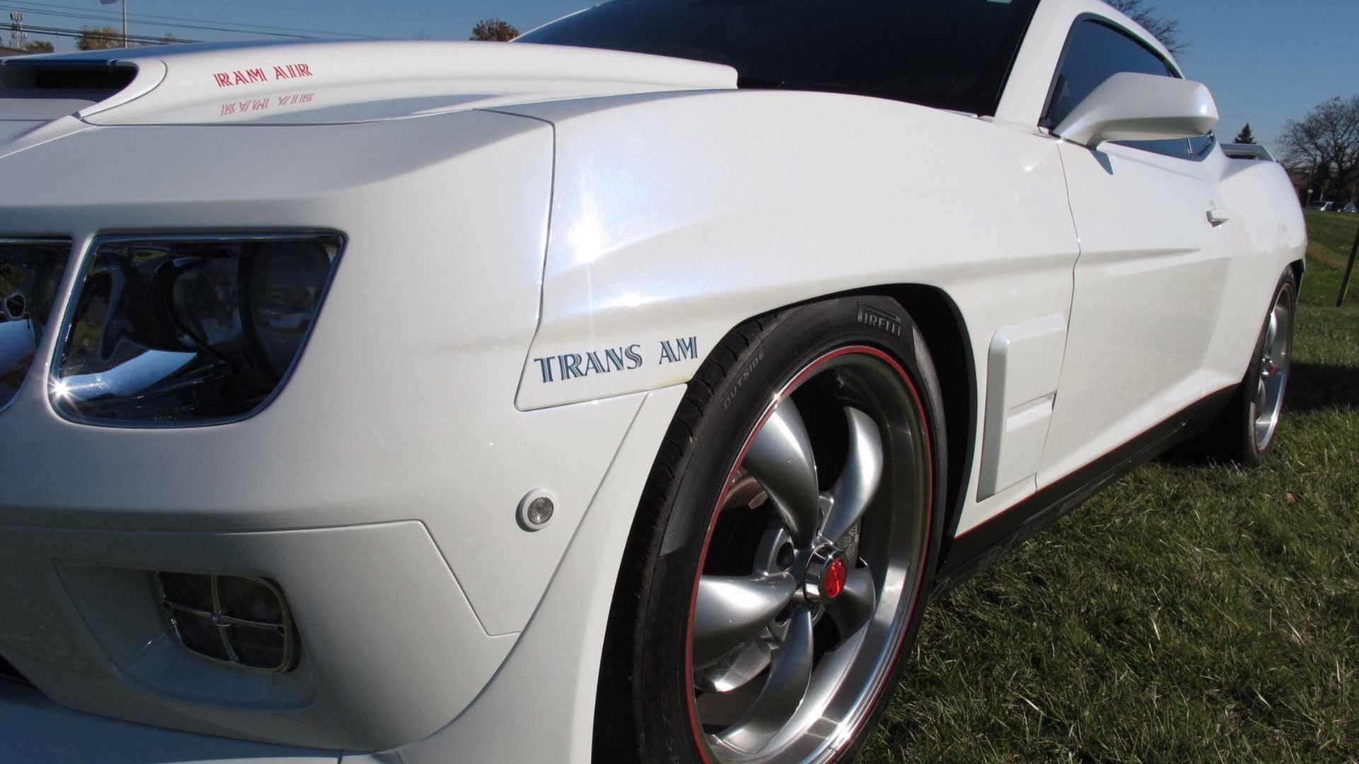 """[""""Bizarre 2010 Camaro With Classic Trans Am Nose Needs Home""""]"""