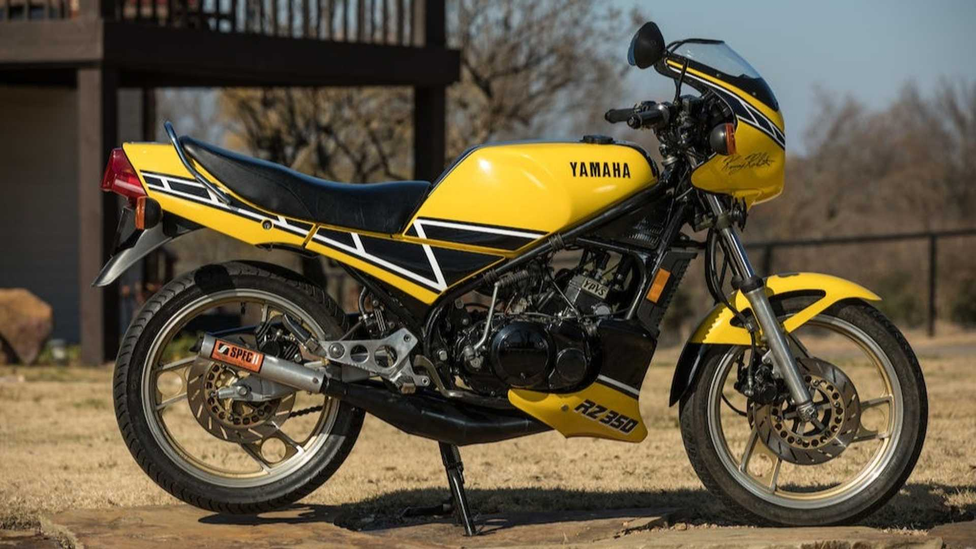 Restored 1984 Kenny Roberts Edition RZ350 Goes To Auction
