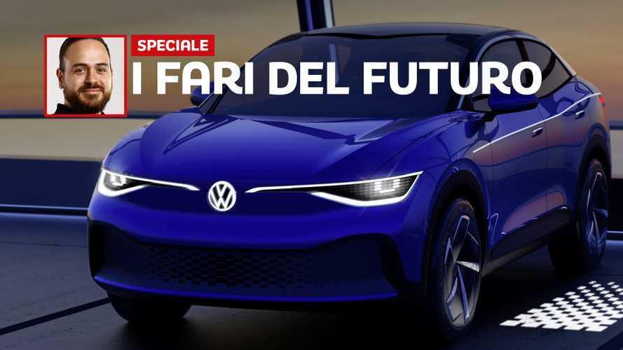 Oltre i matrix LED: il futuro dei fari secondo Volkswagen