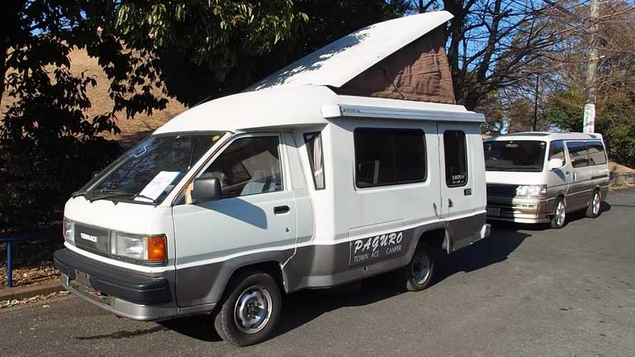 Toyota Town Ace Camper Could Be The Cute RV Of Your Dreams