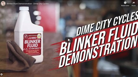 Quick Anytime Motorcycle Maintenance Tips: Blinker Fluid