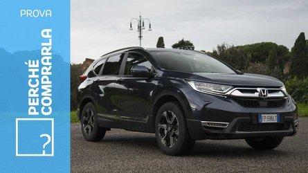 Honda CR-V, perché comprarla… e perché no