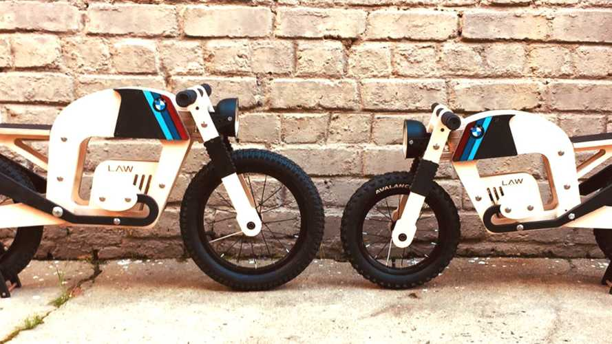 Lawless Custom Wood Bikes Start Kids Riding Right
