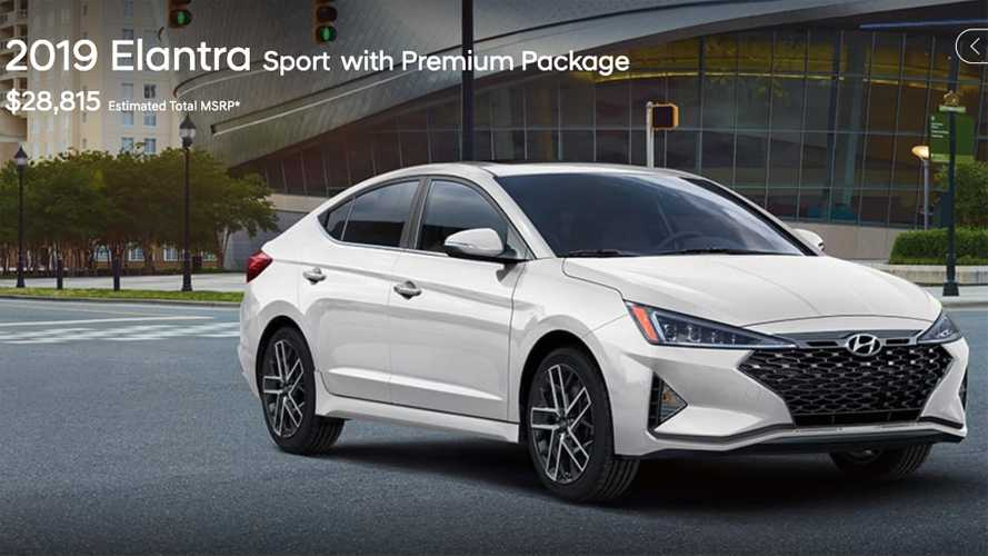 2019 Hyundai Elantra Sport Takes Step Backward In Styling