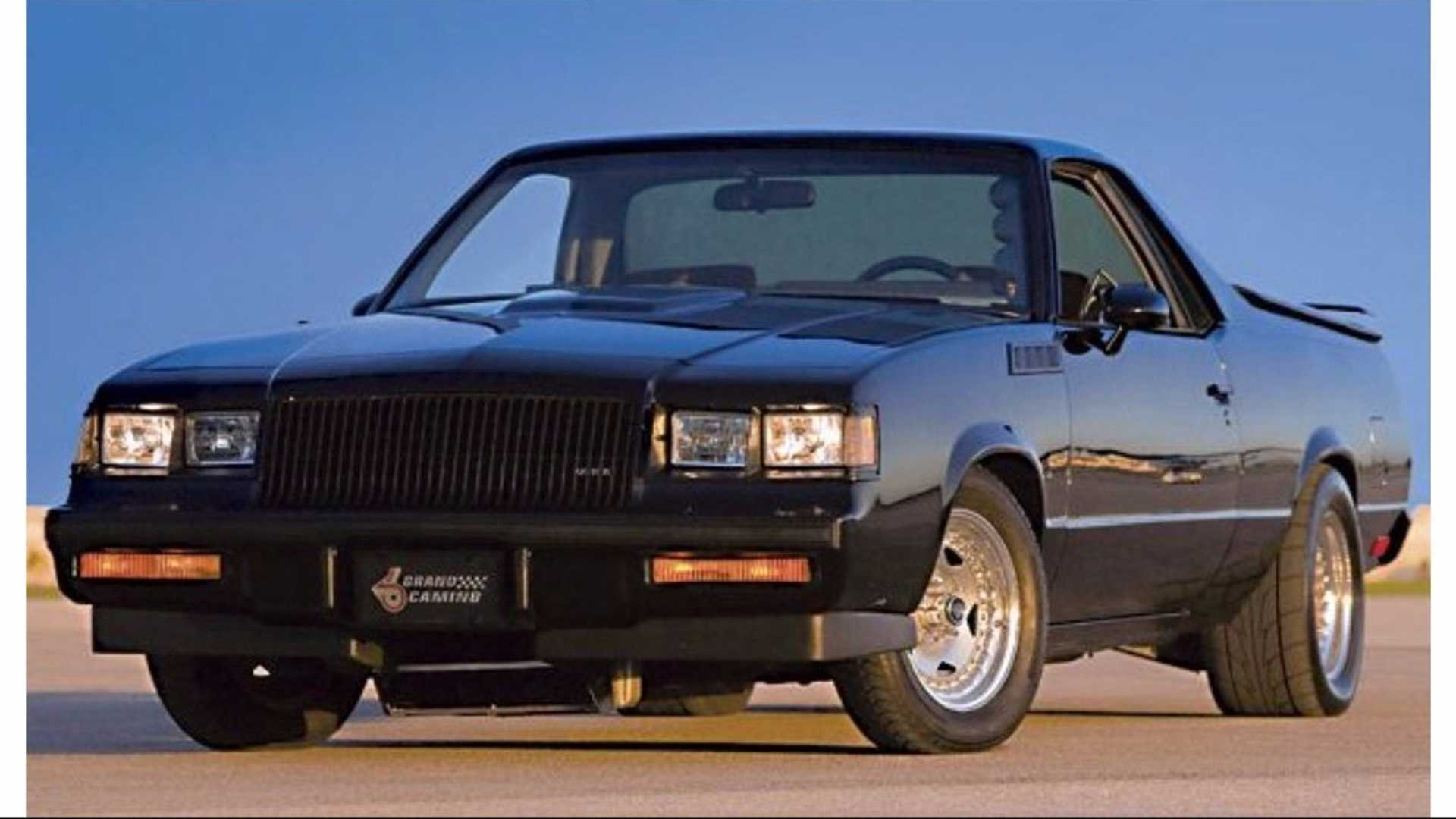 """[""""1984 'Grand Camino' Combines Chevy And Buick Flare""""]"""