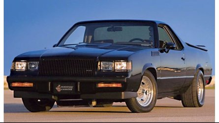 1984 grand camino combines chevy and buick flare