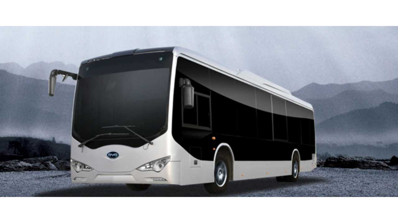 BYD Electric Bus Now Being Tested In Downtown Los Angeles