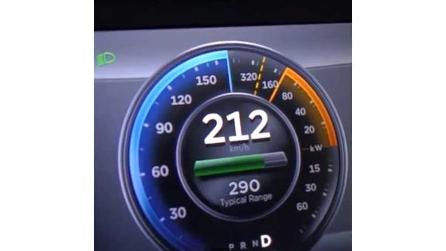 Video: Top Speed Test - Tesla Model S P85 Gets Driven on the Autobahn