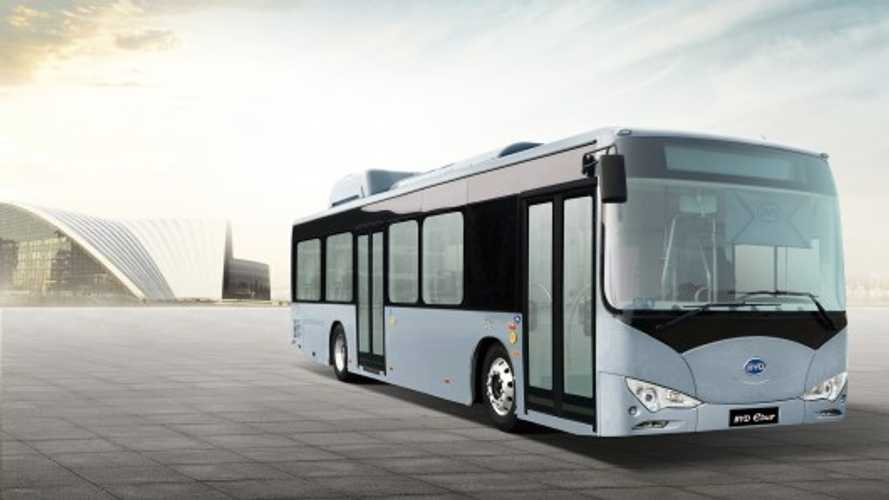 Long Beach Transit May Not Receive Funding For 10 BYD e-bus