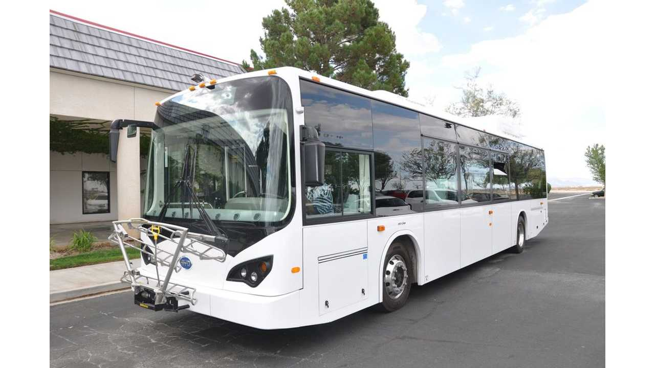 BYD 40-foot Pure-Electric Transit Bus in U.S.