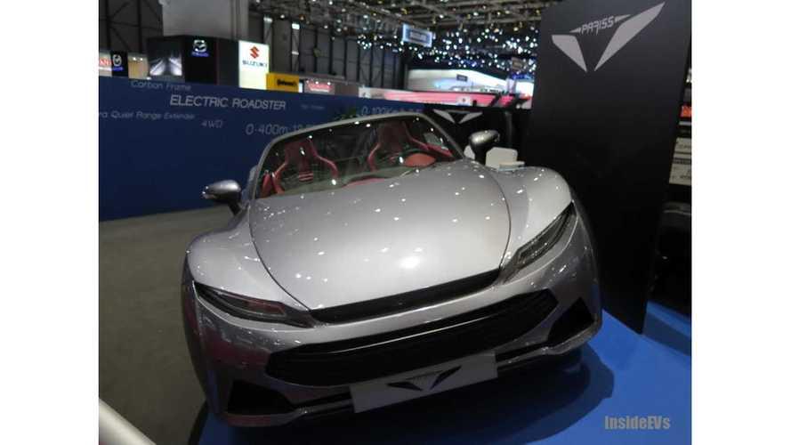 Range Extended Pariss Roadster Shocks Us In Geneva (w/video)