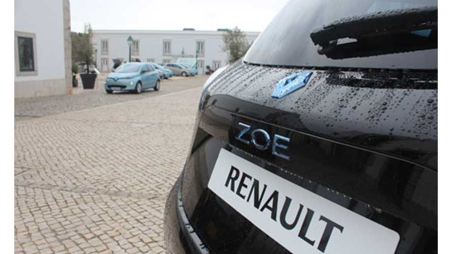 Euro NCAP Lists Renault Zoe As Its Highest Scoring Supermini Tested in 2013