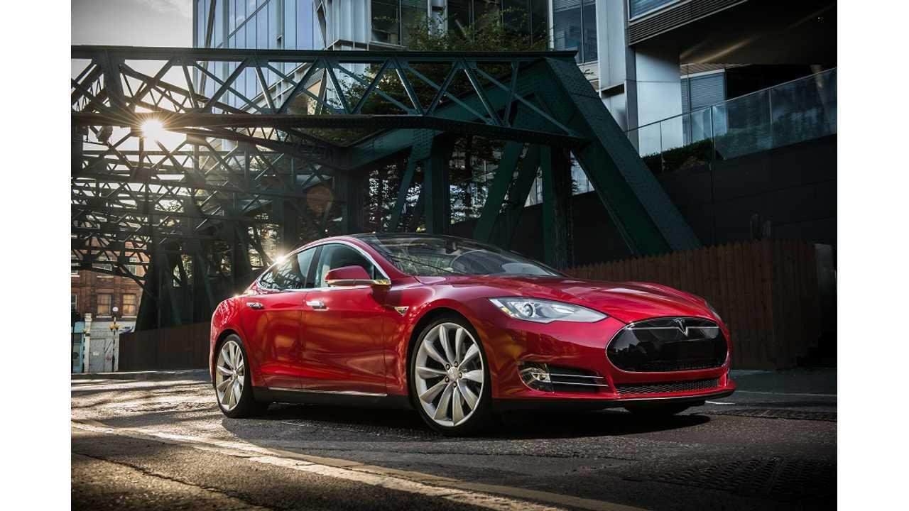 Tesla Model S In Europe