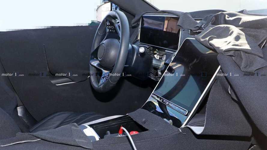 L'intérieur de la future Mercedes Classe S débusqué