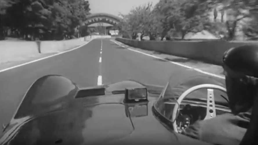 A Lap Of Le Mans With Mike Hawthorn And His Jaguar D-Type